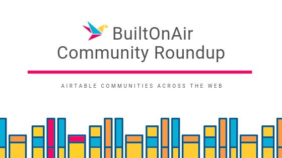 Dec 9-15 2018 Weekly Community Roundup